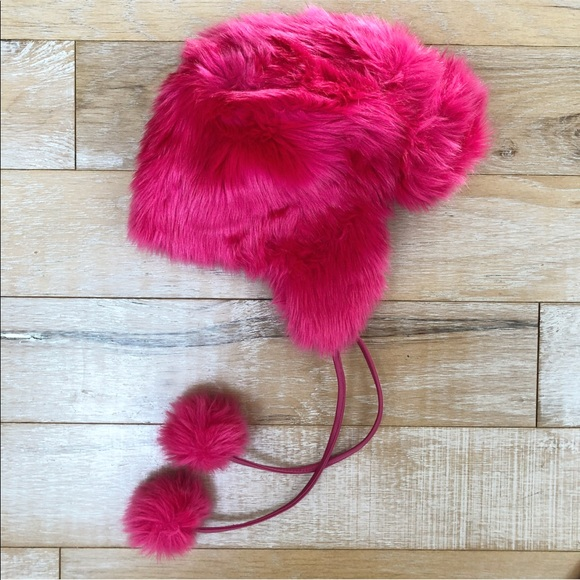 2ca968b238a0 kate spade Accessories | Nwt Hot Pink Bisous Trapper Hat | Poshmark